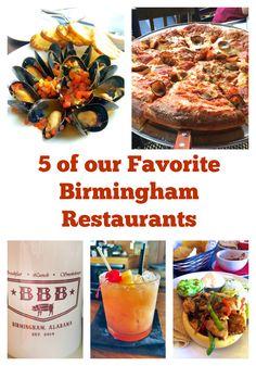 Birmingham Eats - 5 great restaurants in Birmingham, AL