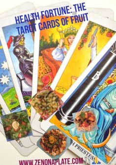 SIMPLY DELISH : HEALTH FORTUNE: THE TAROT CARDS OF FRUIT