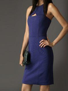 Back Zipper Sleeveless Pure Color Plus Size Dress For Women Party Dress