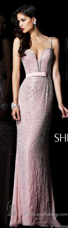 Sherri Hill Couture ~  rosa