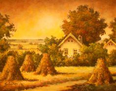 Sava Stojkov-Bogata-jesen-40x50