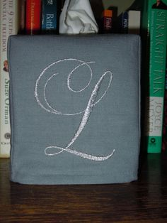 Tissue Box Cover   Made To Order  Monogrammed by jbsewblessed