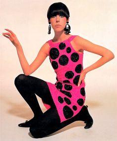 Peggy Moffitt in Pierre Cardin dress, 1965 http://sulia.com/my_thoughts/ad9f7095-d5aa-4f9a-a795-217967072da6/?source=pin&action=share&btn=small&form_factor=desktop&pinner=125435173