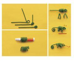 Pipe Cleaner Pals | AllFreeKidsCrafts.com