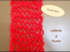 Como tejer el punto ideal en dos agujas - YouTube Knit Patterns, Crochet Necklace, Crochet Hats, Knitting, Hippy, Youtube, Scrappy Quilts, Knit Shawls, Point Lace