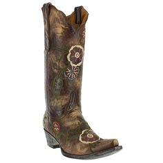 I want these so badly ! Old Gringo Women's Tyler Western Boots