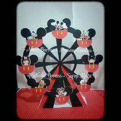 Roda gigante do mickey #lovescrapfesta #mickey #personalizados
