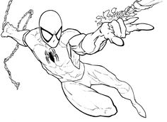 spiderman coloring pages printable coloring for kidscoloring for