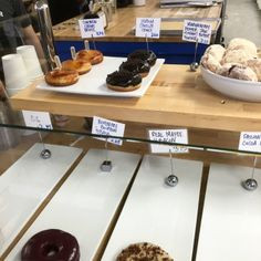 Can't go wrong with donuts that come with their own shot! Find them at Blue Star Donuts!