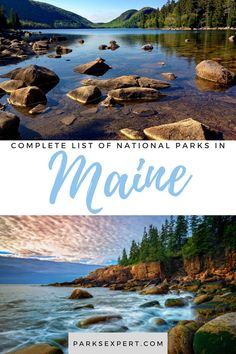 The four national parks in Maine are a great destination for outdoor enthusiasts and history buffs alike! Explore each one on The Parks Expert.