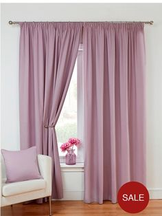 Lightweight Canvas Pencil Pleat Curtains in a choice of 8 colours – great value!Please note: orders placed before 12pm will be delivered on the next working day unless otherwise stated. Orders placed after 12pm may take 2 working days. Add a splash of colour to your room and frame your windows beautifully with our great value lightweight canvas curtains.Unlined, the curtains come in a dazzling array of eight colours including vivid teal, rich plum, cool natural and dramatic red, ensuring…