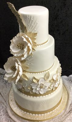 chocolate wedding cake with sour cream Tall Wedding Cakes, 4 Tier Wedding Cake, Wedding Anniversary Cakes, Beautiful Wedding Cakes, Wedding Cake Designs, Beautiful Cakes, Amazing Cakes, Bohemian Cake, Sugar Cake