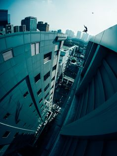 First jump in Seoul by Storror - still from ROOF CULTURE ASIA - by Drew Taylor via @onreact