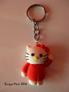 Llavero de Hello Kity.  Si te gusta puedes adquirirlo en nuestra tienda on-line: http://www.sugarshop.eu