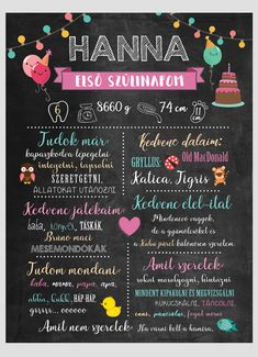 Baby Poster, Baby Decor, Chalkboard Quotes, Art Quotes, Elsa, Diy And Crafts, Presents, Birthday, Creative