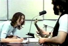Two of us | John and Paul on Get Back Session, 1969