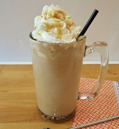 Salted Caramel Mocha Frappe Recipe by CulinaryChat