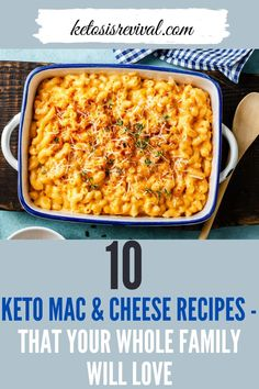 Here are some easy keto mac and cheese recipes that your whole family will love. A good keto recipe can turn macaroni and cheese into a meal you can eat guilt-free. Try this rich and satisfying mac and cheese recipe today! Catch the recipes from this pin! #macandcheese #ketomacandcheese #ketosis #ketodiet #lowcarbdiet #ketodietrecipe Keto Mac And Cheese, Mac Cheese Recipes, Low Carb Recipes, Macaroni And Cheese, Carb Free Pasta, Easy Snacks, Healthy Snacks, Keto On The Go, Breakfast Recipes