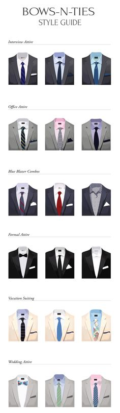 Style Chart For Men For All Attire