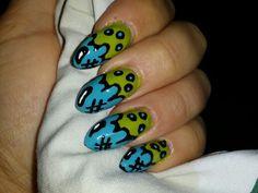 Nails water