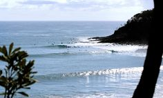 The locals' guide to surfing Noosa: Seek out perfect peelers at Tea Tree or Granite Bay in Noosa.