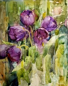 Original artwork from artist Julie Ford Oliver on the Daily Painters Gallery