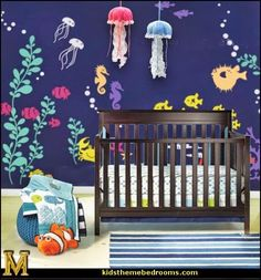 Decorating theme bedrooms - Maries Manor: under the sea baby ...