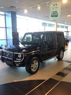 If the weather seem a little cold and scary, never fear don't worry the G550 has you covered it can handle most anything. Come and see it today at Mercedes Benz of St Clair Shores.