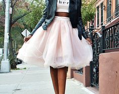Small Pink 8 Layer Tutu Skirt, Tulle Skirt, Ballerina Skirt, Size SMALL