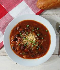 3 Bean Vegetarian Chili