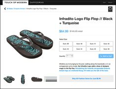 Emporio Armani® Flip Flops On Sale – Fixtures Close Up Giorgio Armani, Emporio Armani, Dapper Men, All Sale, Visual Merchandising, Pairs, Turquoise, Stuff To Buy