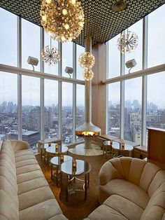 Boom Boom Room, The Standard NY Hotel | Roman and Williams Buildings and Interiors | Archinect