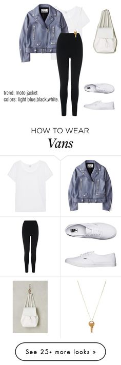"""""""a shade of blue :)"""" by stephanieehart on Polyvore featuring Splendid, Acne Studios, L.K.Bennett, Vans, Anthropologie and The Giving Keys"""