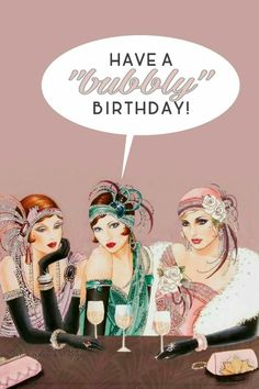 Hey the more bubbly the happier the birthday !?!? Yeah !!!???.....