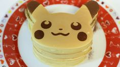 Pokemon's main character PiKachu. This making kit contains hot cake mix,Pikachu shaped pancake mold and template. The back package describes how to make Pika...