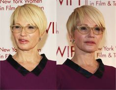 Ellin Barkin The Best Short Haircuts for Women Over 50: How to Style Fine Hair