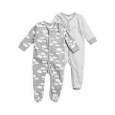 Grey Pyjama, Interlock, Long, , : , KappAhl,...
