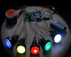 The LED Button Based Combination Lock Escape Room Prop!