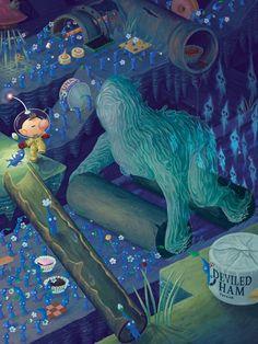 The Waterwraith by Lydia Guadagnoli - Pikmin 2