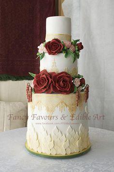 Tahira's wedding cake