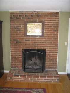 Fireplace Makeover :: Before image by DanvCT - Photobucket