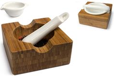 Convertible Mortar and Pestle - Winter 2009 Gift Guide: Under $50 ... Mortar And Pestle, Kitchen Tools, Holiday Gifts, Gift Guide, Convertible, 50th, Winter, Pictures, Food