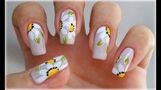 UNHAS DECORADAS COM FLORES - Nail Art Easy | #GersoniTodoDia 11