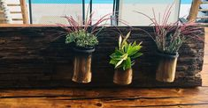 NINASIMON - Deko - Altholz - Blumen Planter Pots, Sign, Vintage, Google, Old Wood, Flowers, Deko, Primitive, Signs