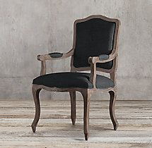 Restoration Hardware 19th C French Victorian Tufted