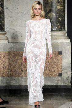 Emilio Pucci Spring 2012 Ready-to-Wear Fashion Show - Natasha Poly