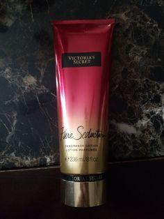 Brand new vs pure Seduction 8 oz. Victoria Secret Perfume, Victoria Secret Body, Fragrance Lotion, Bathroom Stuff, Smell Good, Shower Gel, Body Wash, Body Lotion, Red Bull