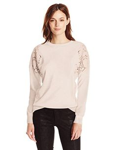 Women's Tae Textured Dropped Arm Jumper