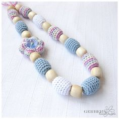 Jewelry Nursing necklace/ Teething necklace for by GerberaHandmade, $24.00