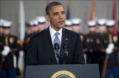 FORDØMMER PRØVESPRENGNING: President Barack Obama betrakter prøvesprengningen som en trussel mot USA og internasjonal fred og sikkerhet. Foto:AFP/ NTB scanpix